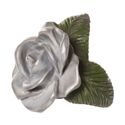 White Rose Sculpture