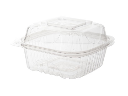 To Go Container Products on White Background